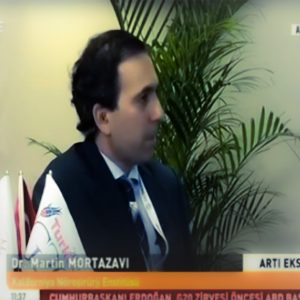Dr. Mortazavi on turkish TV interview